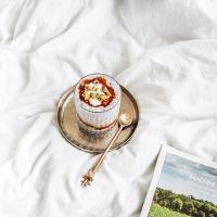 Chia sėklų pudingas su šaltalankių uogiene